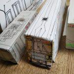 電車の模型